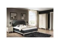 Taranko: Florencja: кровать 160х200  (ваниль, ткань)