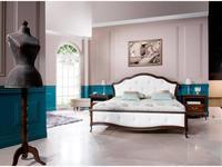 Taranko: Verona: кровать 160х200   (орех, кожа)