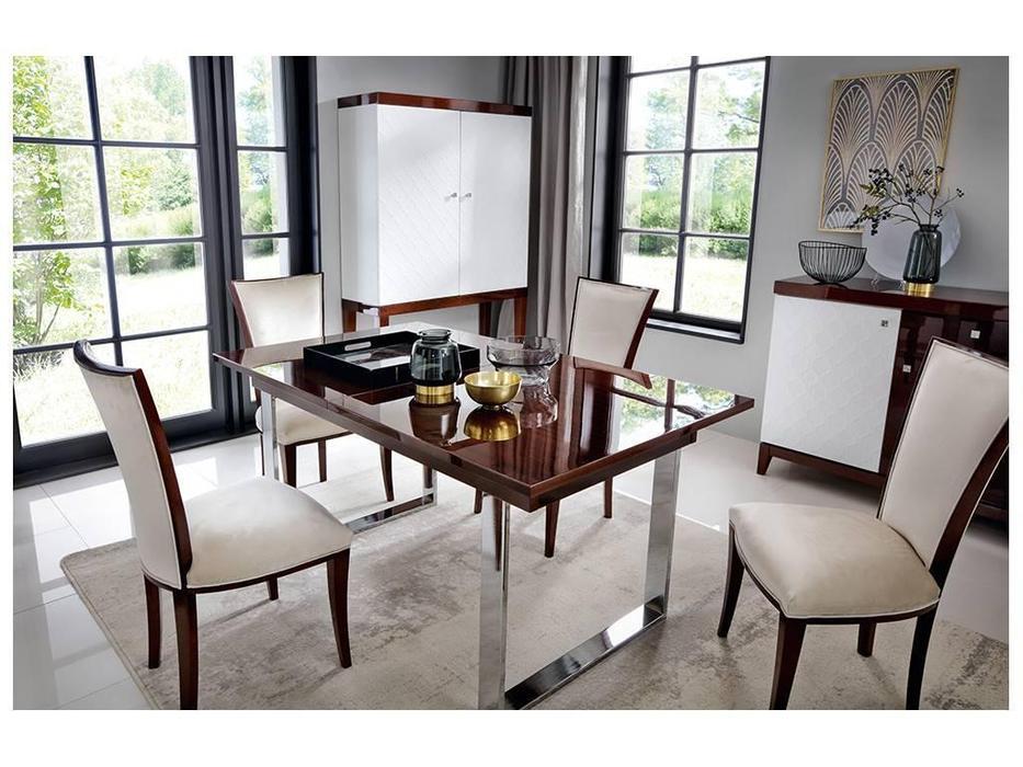 Taranko: Via: стол обеденный  раскладной (махагон)