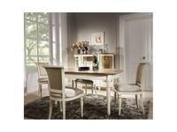 Taranko: Florencia: стол обеденный раскладной  (patina)