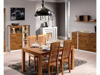 Taranko: Siena: стол обеденный  раскладной (дуб мокка)
