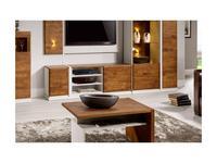 Taranko: Siena: стол журнальный  (дуб мокка, cappucino)