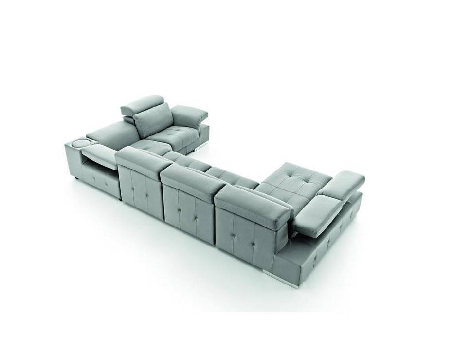 Pedro Ortiz: Charlotte: диван многоместный (grey)