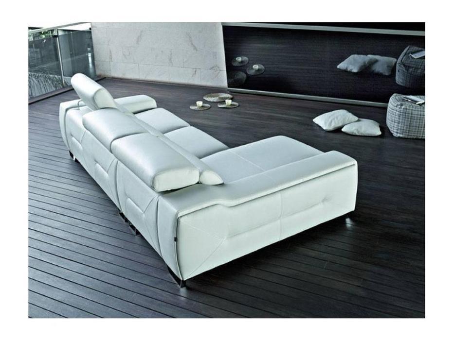Pedro Ortiz: Cinthia: диван угловой (white)