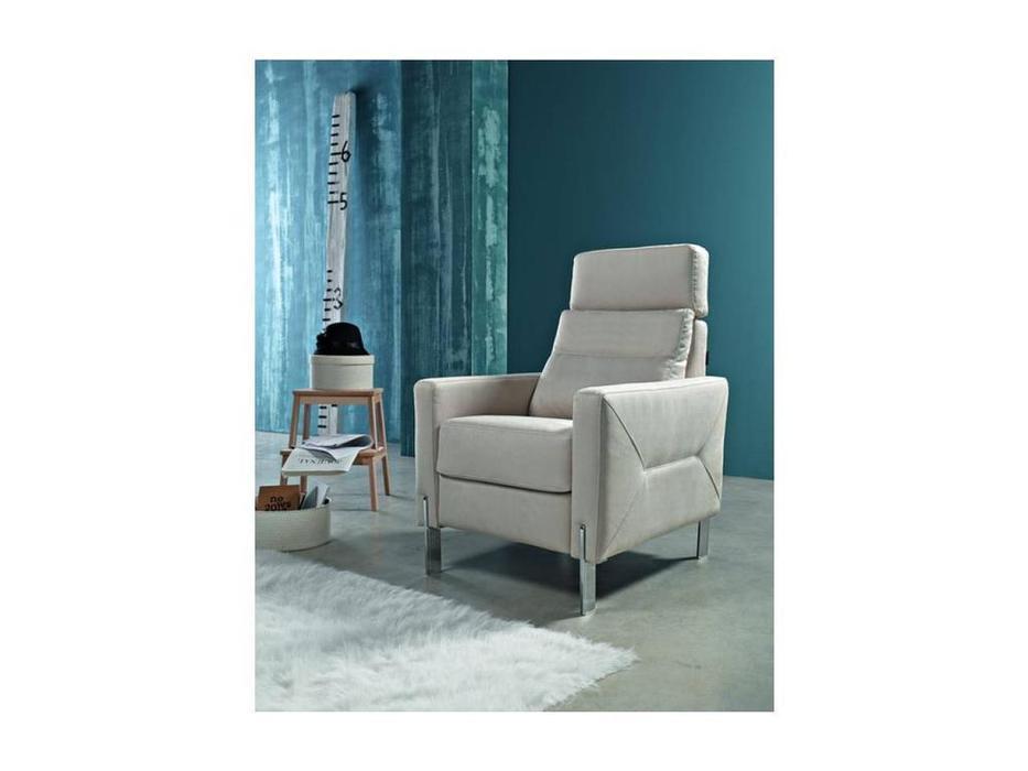 Pedro Ortiz: Deli: кресло - релакс (white)