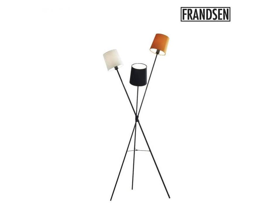 Frandsen: Dexter: торшер  (черный, белый, оранжевый)