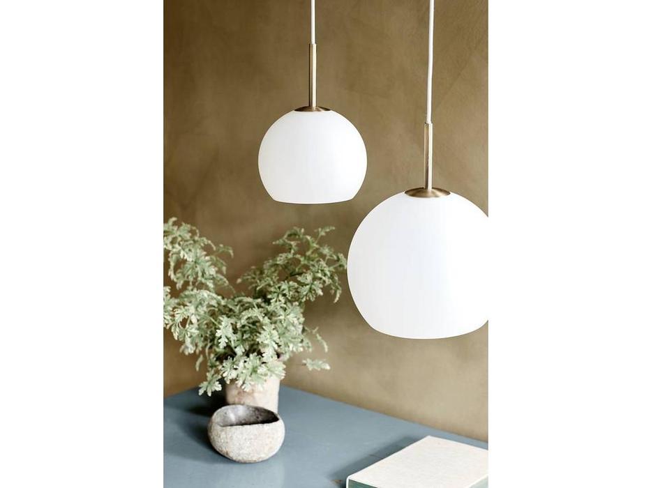 Frandsen: Ball Pendant: светильник  подвесной (белый матовый)