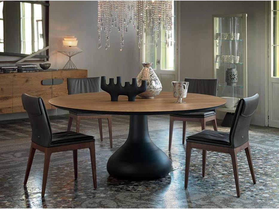 Cattelan: Bora Bora: стол обеденный (walnut)