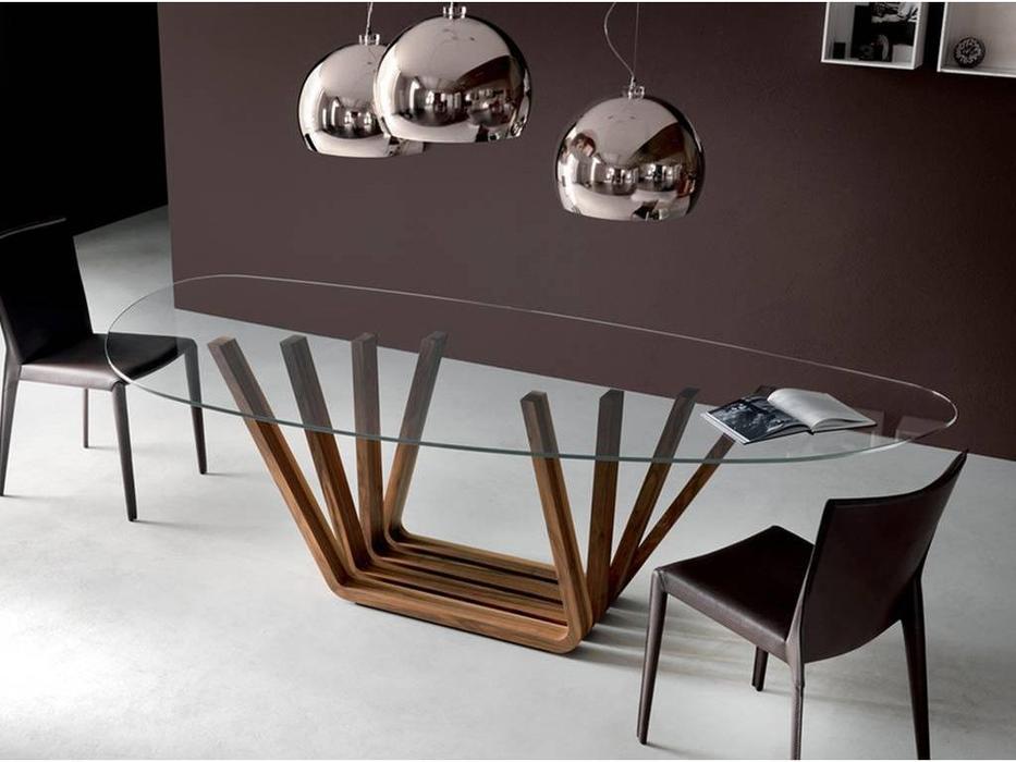 Cattelan: Domino: стол обеденный (oak)