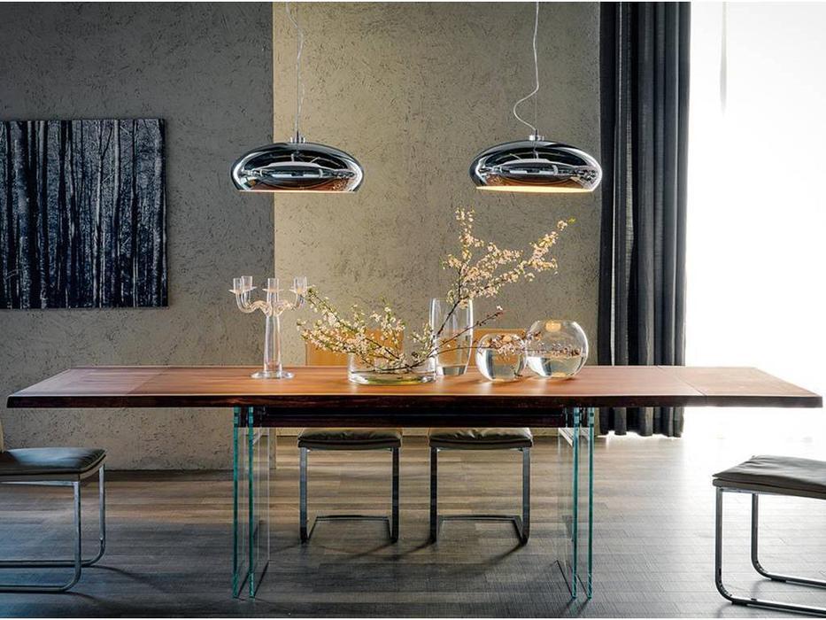 Cattelan: Ikon Drive: стол обеденный раскладной (walnut)
