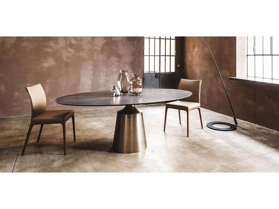 Cattelan: Yoda Keramik: стол обеденный овальный