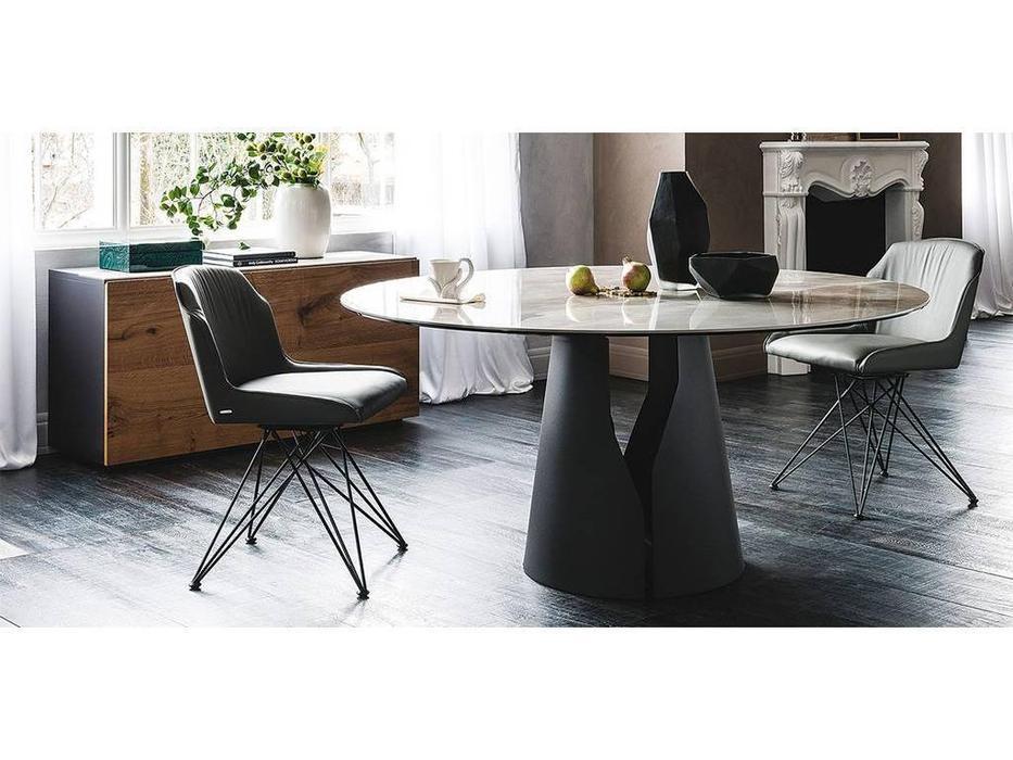 Cattelan: Giano Keramik: стол обеденный круглый