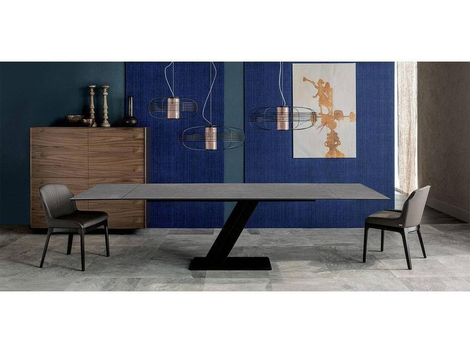 Cattelan: Zeus Keramik: стол обеденный раскладной