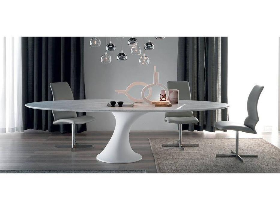 Cattelan: Reef: стол обеденный овальный