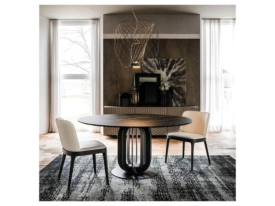 Cattelan: Soho Keramik: стол обеденный круглый