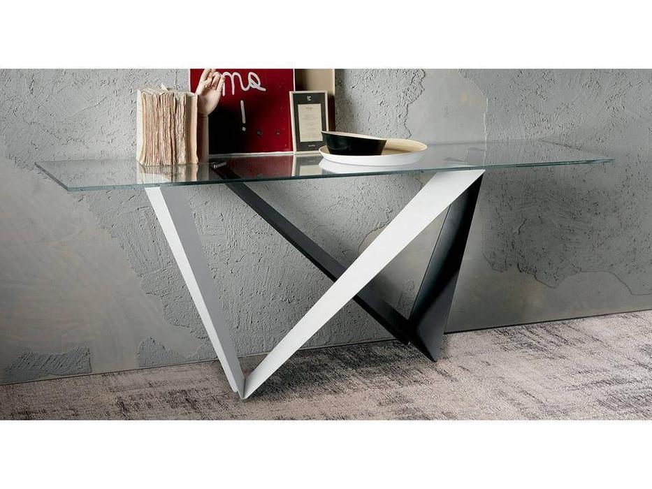 Cattelan: Westin: консоль (металл, стекло)