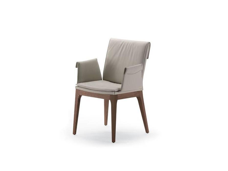 Cattelan: Tosca B: стул c подлокотниками (экокожа)