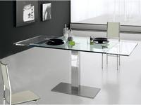 Cattelan: Elvis Drive: стол обеденный раскладной (glass)