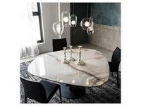 Cattelan: Skyline Keramik Round: стол обеденный
