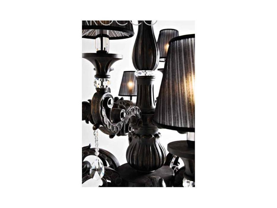 DARTE: Barocco: люстра  (nero antico)