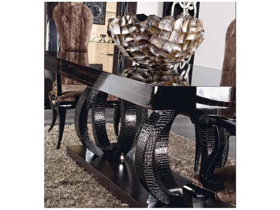 Llass: Stravaganza: стол обеденный раскладной  (эбен)
