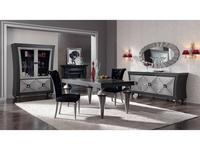 Llass: Wonderland: гостиная комната (nogal pincelado, plata rozada)