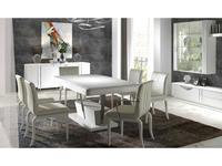 Llass: Kira: стол обеденный раскладной Агата  (лак)