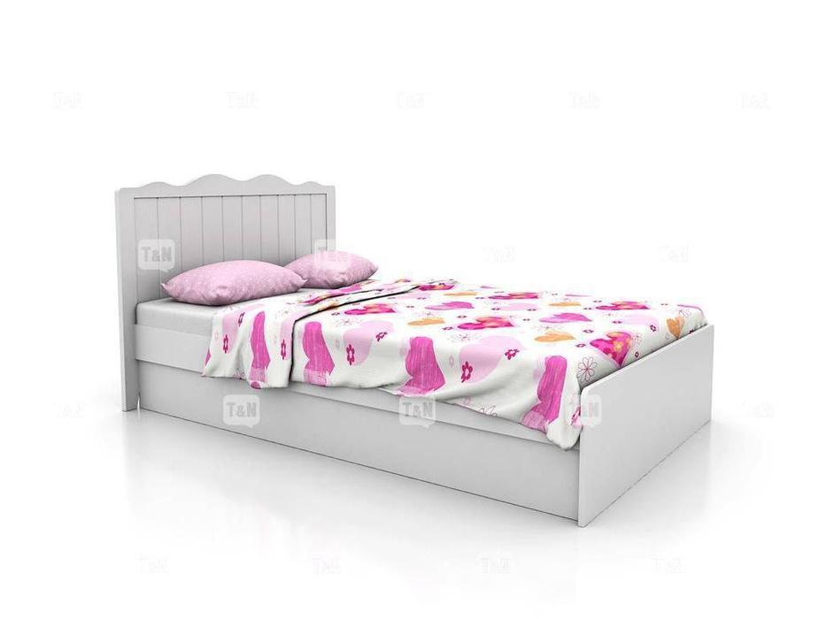 Tomyniki: Grace: кровать 90х190  (белый)