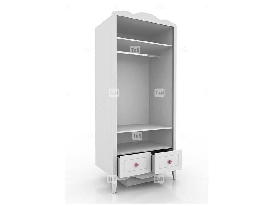 Tomyniki: Grace: шкаф 2-х дверный  (белый)