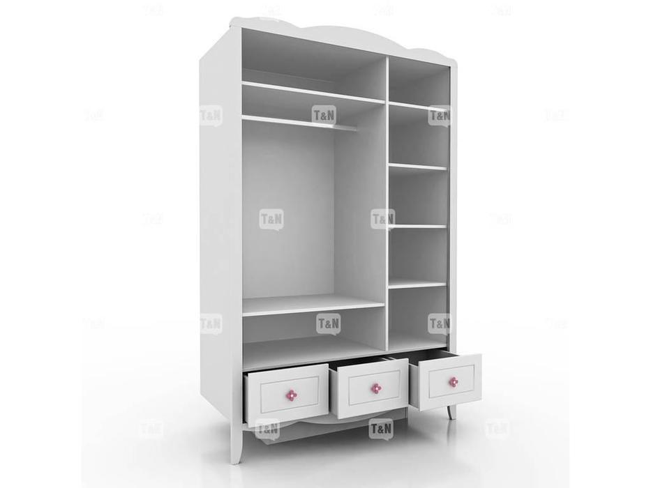 Tomyniki: Grace: шкаф 3-х дверный  (белый)