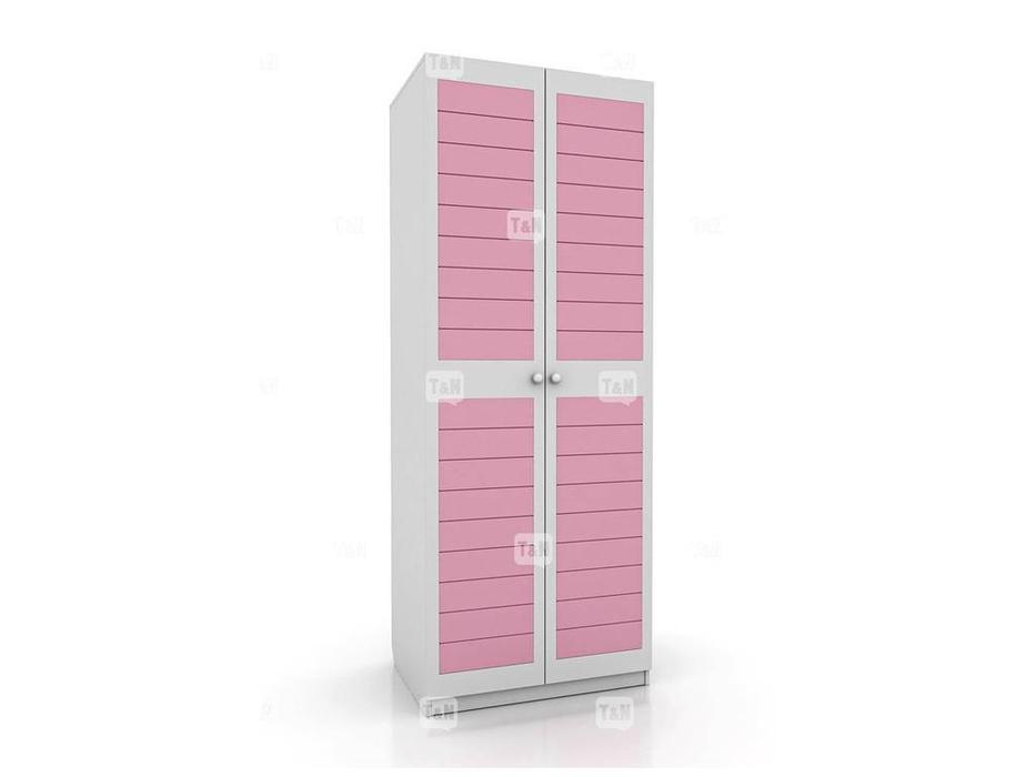 Tomyniki: Michael: шкаф 2-х дверный  (белый, розовый, зеленый, беж)
