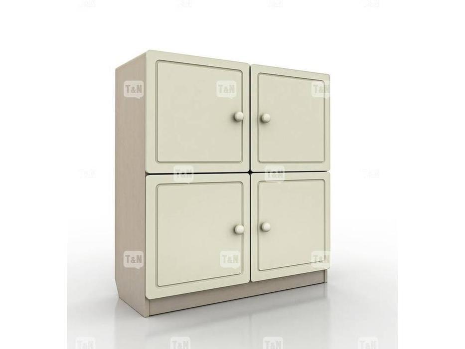 Tomyniki: Robin: шкаф книжный  (белый, розовый, голубой, беж)