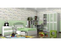 Tomyniki: Michael: детская комната (зеленый)