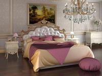 Флоренция:  Сардиния: кровать с подъемным механизмом 180х200 (белый, золото)