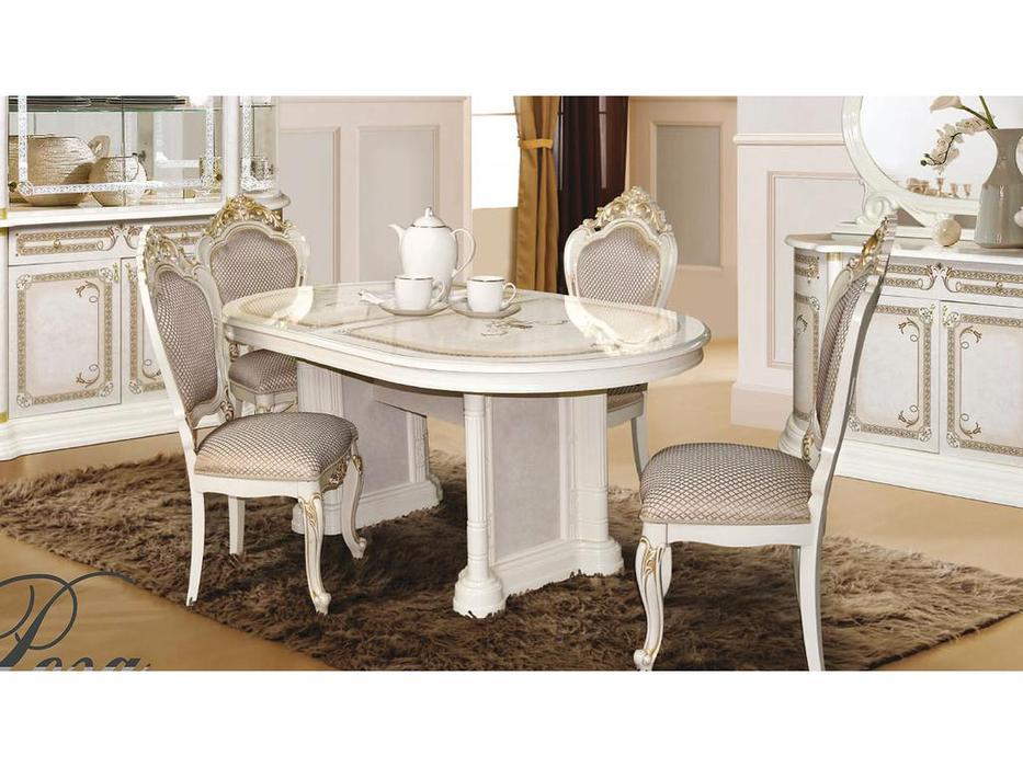 Dia: Роза: стол обеденный раскладной (беж)