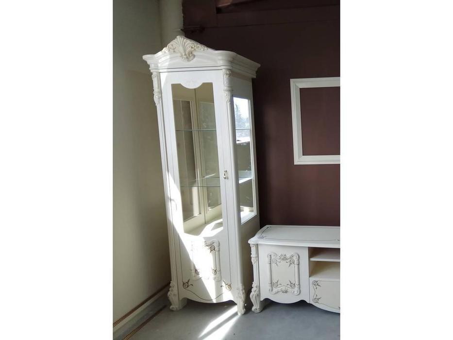 Dia: Рафаэлла: витрина 1 дверная левая (слоновая кость)