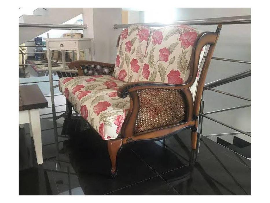 Nieri: Wien: диван 2-х местный (ткань, орех)