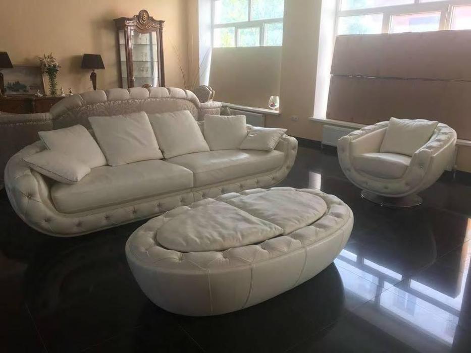 Nieri: Fitzgerald: комплект мягкой мебели (белый)