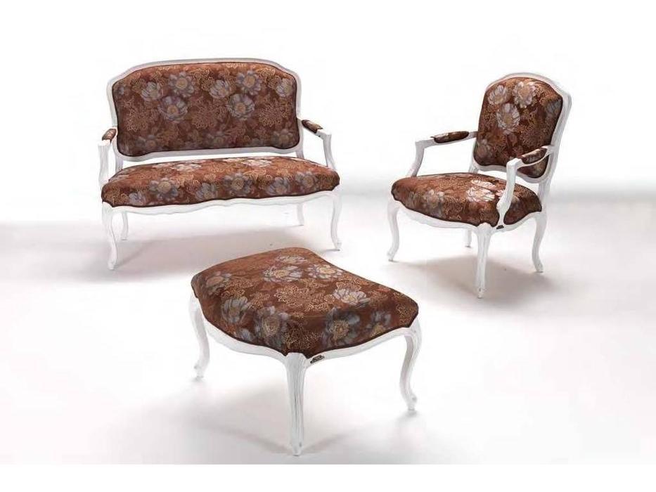 Les Cousins: Никарагуа: комплект мягкой мебели (ткань, слоновая кость)