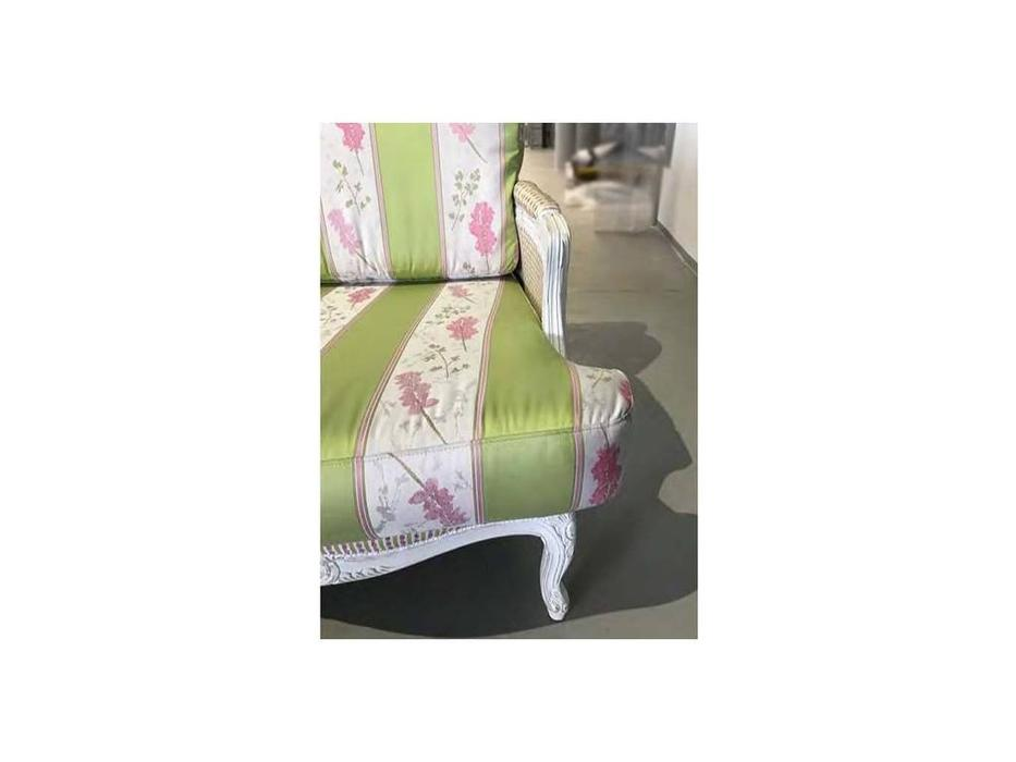 Les Cousins: Bagamas: диван 2-х местный (ткань, белый)