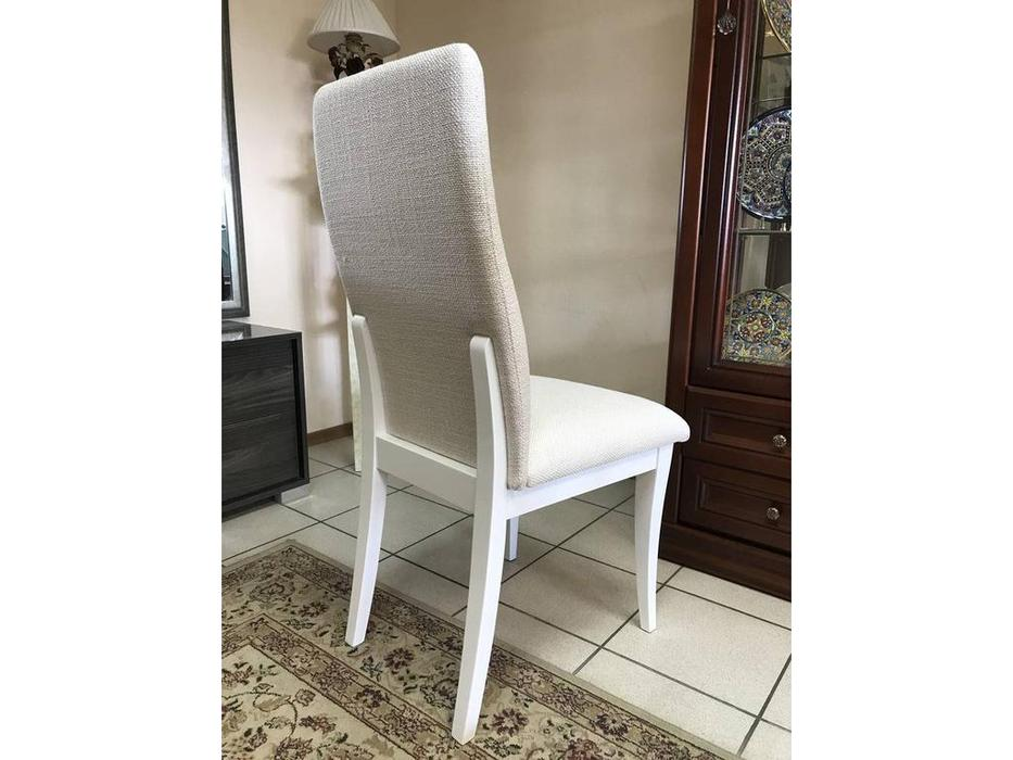 Megapolis: Trento: стол обеденный и 6 стульев (белый)