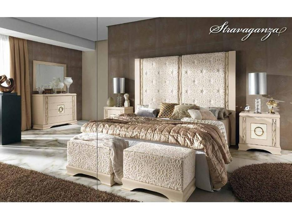 Llass: Stravaganza: кровать 180х200 (Platino Rozado)