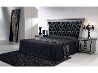 Llass: Wonderland: кровать 200х200 (Plata/Oro Rozada)