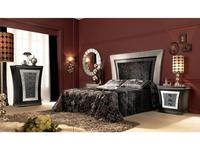 Llass: Wonderland: кровать 180х200 (Plata/Oro Rozada)