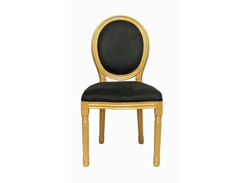 Interior: Volker: стул  (черный, золото)