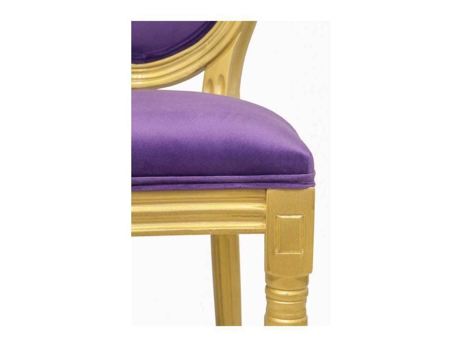 Interior: Volker: стул  (черный, фиолет)