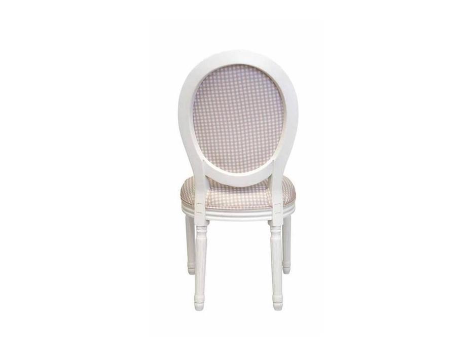 Interior: Volker: стул  (белый, светло-коричневый)