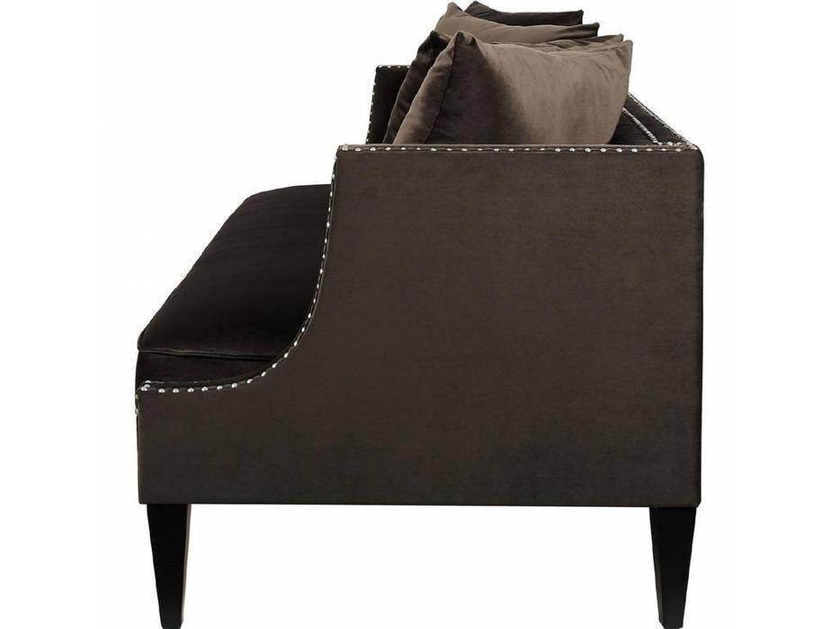 Dhome: Fendy: диван 3 местный  (коричневый)