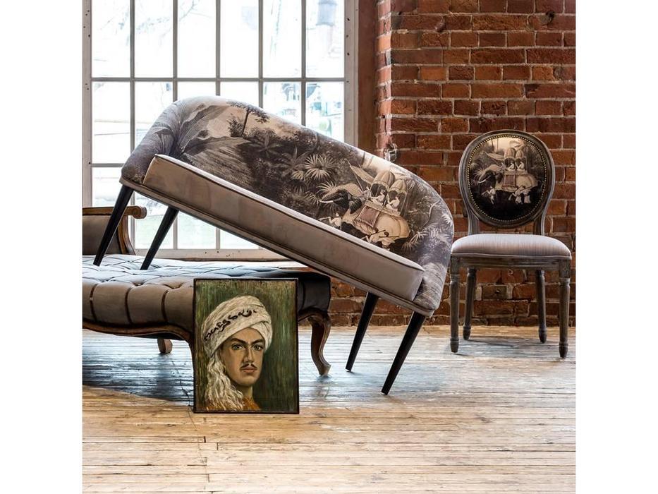 Dhome: Heavenly serenity: диван 2 местный  (серый, разноцветный)