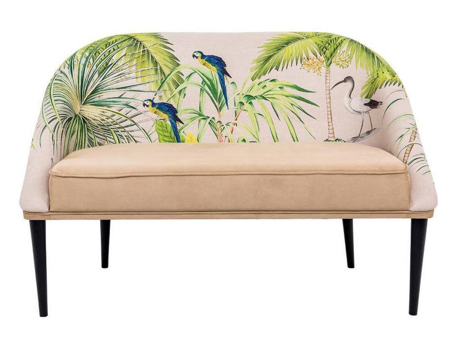 Dhome: Heavenly serenity: диван 2 местный  (бежевый, разноцветный)